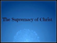 supremacy_christ